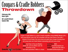 Cougars and Cradle Robbers Throwdown - https://www.fitevents.com/?p=354256