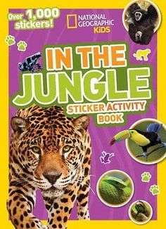 National #geographic kids in the #jungle sticker #activity book: over 1,000...,  View more on the LINK: http://www.zeppy.io/product/gb/2/252435964044/
