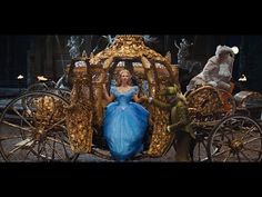 Cinderella - Disney movie trailer. 2015