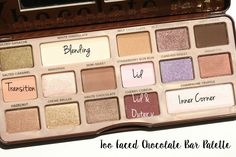 Makeup products too faced chocolate bar palette ideas Makeup Goals, Makeup Tips, Beauty Makeup, Eye Makeup, Drugstore Beauty, Makeup Tutorials, Makeup Products, Beauty Products, Chocolate Bar Makeup