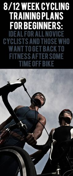 Beginner cycling training plans.  You will be able to ride further and quicker by the time you finish the block, and you'll have learned a variety of different training techniques... #cycling #bike #bicycle #trainingplan
