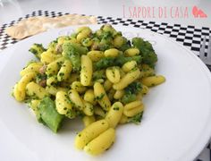 Cavatelli with broccoli and bacon