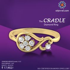 Design Of The Day..... ATJewel Presents Beautiful Cocktail Diamond Ring,Specially For Love Season Special.Buy This Beautiful Diamond Ring For Your Love With ATJewel at Best Prize. #ATJewel #Diamonds #CocktailCollection #LoveSeasonSpecial #Gold #EasyOnBudget http://bit.ly/2kaLVyi