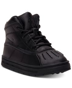 the best attitude 8caec 5ce20 Nike Kids Shoes, Boys Woodside 2 High Boots from Finish Line - Black 10 Nike