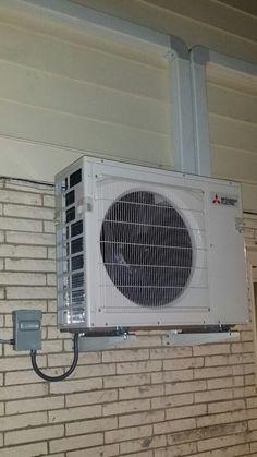Mitsubishi MSZFH12NA indoor heating and air conditioning