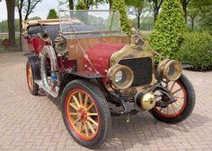 1909-10 Minerva, 4 seat open tourer