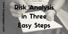 What is Risk Analysis? Risk analysis is the process of identifying hazards, assessing their risk, and managing your preparedness to them. Conducting