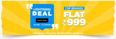 This Tuesday couldn't get any better! Big Brand Sale extended but just for one day. Upto 80% off all brands, so shop till you drop! Explore here:http://bit.ly/BigBrandsoffer