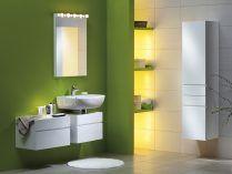 Cuarto de baño verde