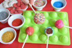 Recette de cake pops réalisés avec un moule à cake pops