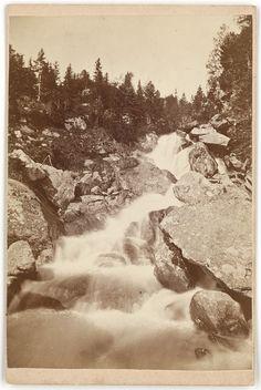 Karol Divald. Studenovodsky vodopad, okolo 1873