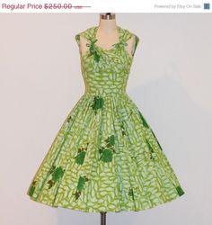 Vintage 50s Anne Fogarty Dress