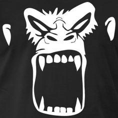 Gorilla - Männer Premium T-Shirt