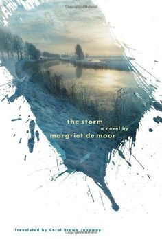 "This book cover is a really effective example with a clear and conspicuous design.The image seems like a splash on a white cover which presents a significance of the book and conveys a feeling of ""storm"" to audiences."