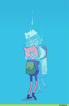 at art,adventure time,время приключений,фэндомы,Doctor Minerva,Finn the human,genicecream