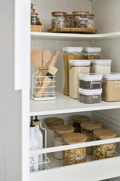 home dco Home Organisation Labels amp; - home dco Home Organisation Labels amp; Kitchen Organization Pantry, Home Organisation, Diy Kitchen Storage, Home Decor Kitchen, Home Kitchens, Diy Home Decor, Pantry Ideas, Kitchen Ideas, Pantry Cabinets