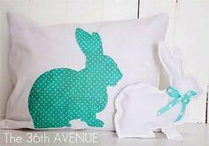 Home-Dzine - Sew a cute bunny cushion