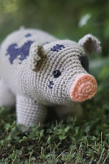 Pig - Free Crochet / Amigurumi Pattern #crochet #amigurumi