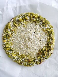 Vegan Pistachio Cheesecake - an easy to follow vegan cheesecake recipe. It's as delicious as it looks and a beautiful cake for your entertainment.