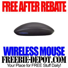 FREE AFTER REBATE – Wireless Touch Mouse - Exp 4/27/14 $60 Value