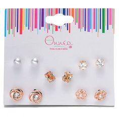 Creative Elephant Eye Beads Stud Earrings Women/'S Trends Earrings Sets New FY