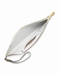 Michael Kors Jet Set Große Perforierte Zip Kupplung Optisch Weiß deutschland 0 #fashionbag#jewellery #jewellerydesign}