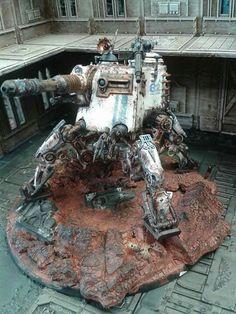 Mechanicum Dunecrawler #wellofeternity #wh40k #40k #warhammer40k #gamesworkshop #weathering #miniatures #mechanicum