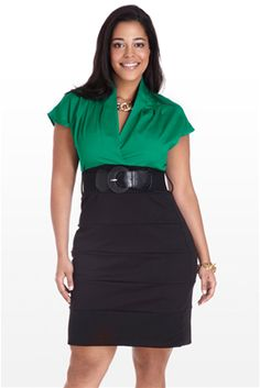 Although this is listed as Plus Size, I'd guess it's closer to a straight Large, and great for curves!