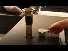 Instructional video on the aeropress, possibility produces better results.