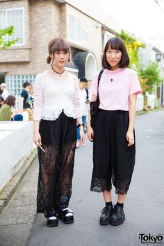 Koharu (left, 19 years old) & Ayaka (right, 18 years old) | 7 September 2016…