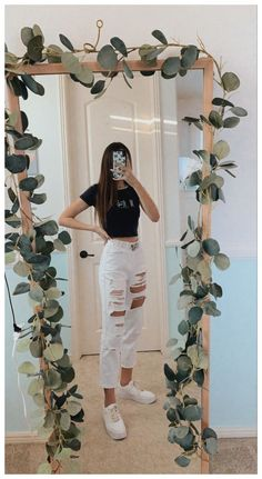 Teen Fashion Outfits, Retro Outfits, Mode Outfits, Outfits For Teens, Girl Outfits, Trendy Summer Outfits, Cute Comfy Outfits, Simple Outfits, Spring Outfits