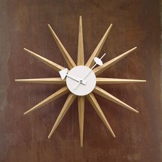 Loving the Mad Men-esque of this clock.