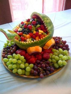 Baby Carriage Fruit Salad