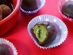Matcha e coco manteiga Trufas 10 maneiras diferentes para comer coco Creme Concentrado