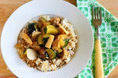 Mandys Recipe Box: Recipe Re-Do: Zucchini & Chicken Stir Fry