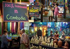 No visit to Siem Reap would be complete without the experience of Angkor Night Market. The original Night Market in Cambodia ... Often imitated but never equaled!