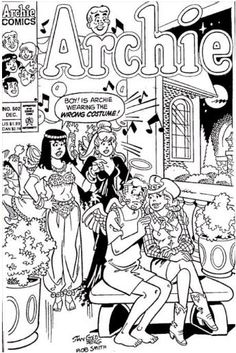 archie comics coloring pages 01 | COLOR & DRAW | Pinterest | Archie ...