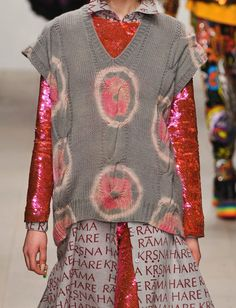 Ashish F/W '12 | bleached and recoloured