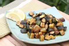 Sesame Cumin Zucchini Bites / Sibo Diet Recipes