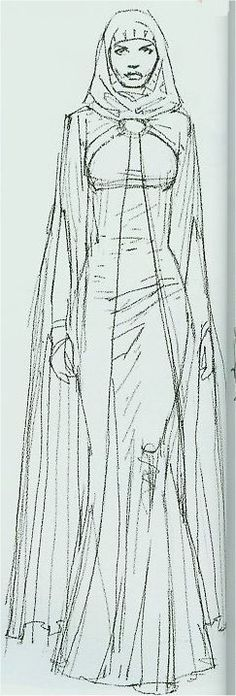 padme concept art | ... padme clone wars image or handmaiden probably padme though .