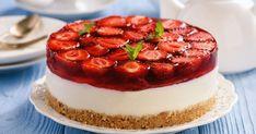 Nepečený jahodový cheesecake - dôkladná príprava krok za krokom. Recept patrí medzi tie najobľúbenejšie. Celý postup nájdete na online kuchárke RECEPTY.sk.
