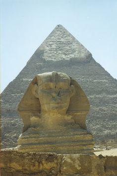 The Sphynx, Egypt 2001