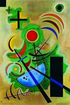 Premium Giclee Print: Solid Green Wall Art by Wassily Kandinsky by Wassily Kandinsky : Art Kandinsky, Wassily Kandinsky Paintings, Kandinsky Prints, Art Mural Vert, Abstract Expressionism, Abstract Art, Abstract Landscape, Green Wall Art, Art Abstrait