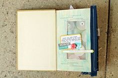 happy little moments altered book | Happy Little Moments Book by melissamann at Studio ... | mini albums