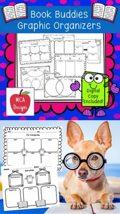 This product contains a variety of reading comprehension graphic organizers that are suitable for any book. Including: 5 W's plus how, comparing & contrasting, BME, problem & solution, main idea, KWL, story map, and cause & effect. All graphic organizers are in both color and black & white. #teacherspayteachers #tpt #reading #readingcomprehension #readingactivities 2nd Grade Activities, Reading Activities, Main Idea, Cause And Effect, Problem And Solution, Any Book, Graphic Organizers, Reading Comprehension, Language Arts