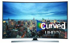 6. Samsung UN65JU7500 Curved 65-Inch 4K Ultra HD 3D Smart LED TV