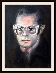 Sir Elton John - Pastel Portrait