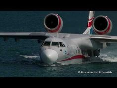 ▶ Бе-200 Гидроавиасалон 2010 чать 1 Be-200 Hydro Air Show 2010 part 1 - YouTube