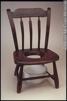 Vintage Wood Folding Chair Wood Slats All Solid