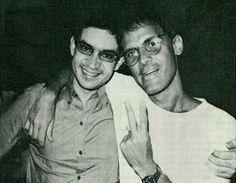 Cazuza e Renato Russo.